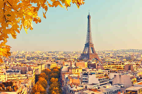 Crystal Travel - Two, three or four night Paris getaway with return Eurostar - Save 35%