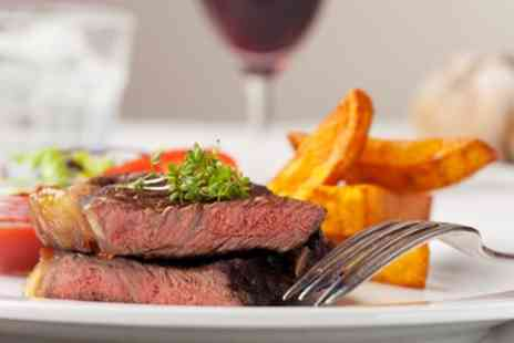 Millstone Inn - Rump or Sirloin Steak with Sauce and Glass of Wine for Up to Four - Save 46%