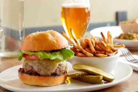 Millstone Inn - Burger Meal with Wine or Beer for Up to Four - Save 50%