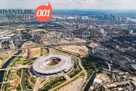 Adventure 001 - Football Stadium Helicopter Tour for One or Two - Save 0%