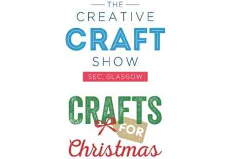 ICHF - One adult ticket to Creative Craft Show Crafts for Christmas on 25 To 28 October - Save 55%