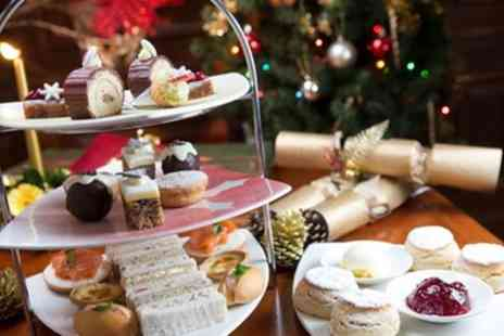 Enelles Glasshouse - Festive Afternoon Tea with Optional Glass of Mulled Wine for Two or Four - Save 0%