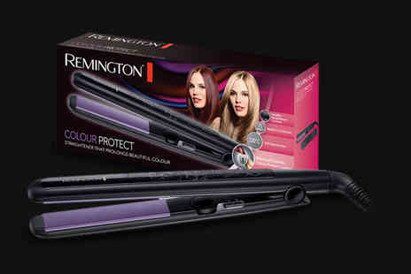 Active MS - Pair of Remington S6300 colour protect hair straighteners - Save 46%
