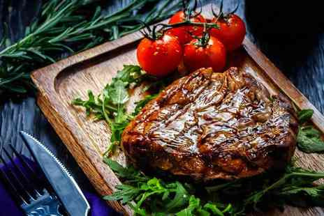 Ambrosia Caffe & Ristorante - 8oz rump steak or pan roast cod fillet with a glass of bubbly each for two - Save 46%