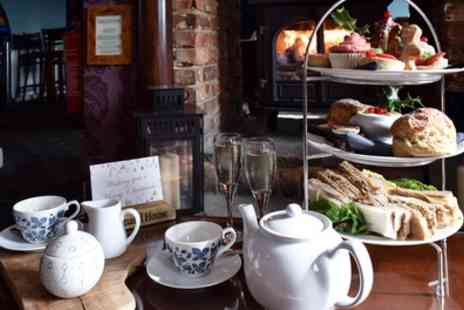 The Command House - Festive Afternoon Tea with Prosecco for Two or Four - Save 65%