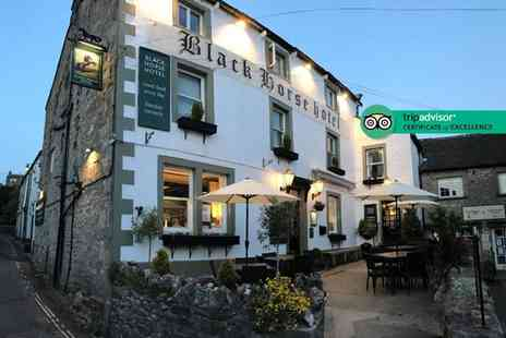 The Black Horse Hotel - Two night Yorkshire Dales stay with two course dinner, late check out and breakfast - Save 0%