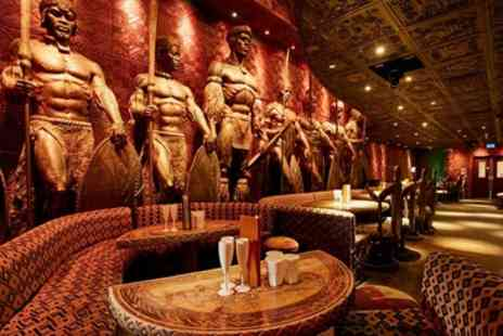 Shaka Zulu - Choice of Zebra, Crocodile of Beef Burger, Fries and Cocktail for Up to Four - Save 61%