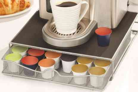 Groupon Goods Global GmbH - Vivo Pod Drawer and Coffee Machine Stand for Nespresso, Tassimo or Dolce Gusto - Save 60%