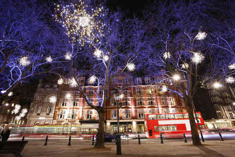 Abbey Tours UK - London Christmas lights bus tour ticket with a delicious mince pie - Save 60%