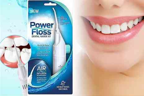 Wow What Who - One air floss teeth cleaner - Save 85%