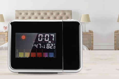 Wow What Who - LED alarm clock and projector - Save 89%
