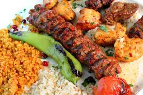Turkish Kitchen - Two Course Turkish Meal for Two or Four - Save 46%