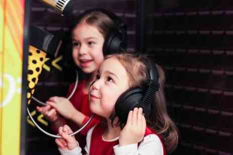 Singing Experience - Kids Recording Party or Unplugged Recording Experience - Save 87%