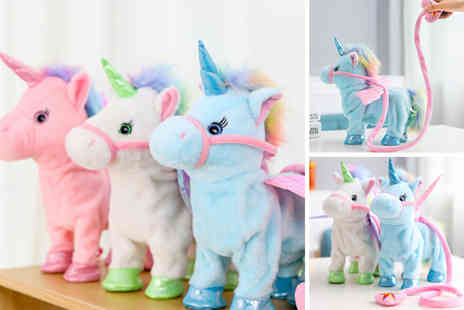 Charles Oscar - Electric walking unicorn - Save 76%