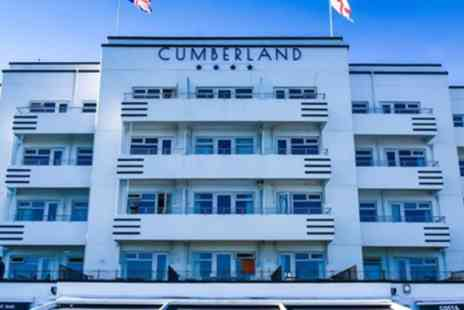 The Cumberland Hotel - Comfort Room for Two with Breakfast, Dinner, Wine, Cream Tea and Spa Discount - Save 54%