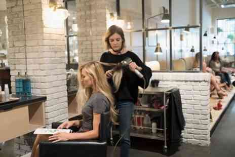 Manga Hair Extension And Salon - Wash, Cut and Blow Dry with Optional Conditioning Treatment - Save 47%