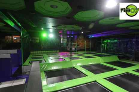 Flip Out - Bronze or Gold Jump Party for Up to 12 Children - Save 21%