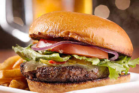 Gourmet Bus - Burger and fries each for two - Save 33%