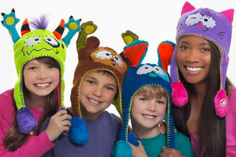 Charles Oscar - Baby animal squeezy hat choose from six designs - Save 67%