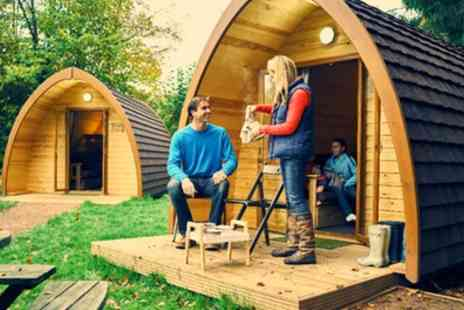 Whitemead Forest Park - Up to 4 Night Glamping Pod Stay for Four People - Save 0%
