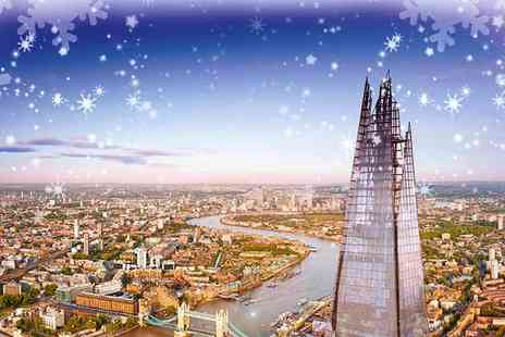 Shard Viewing Gallery Management - Exclusive Christmas Themed Event at The View From the Shard, Includes Breakfast, Goodies, Prizes and Surprises - Save 0%