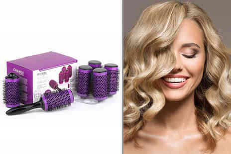 Charles Oscar - Hair styling brush set - Save 70%