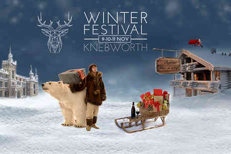 Knebworth Winter Festival - Family of four ticket to Knebworth Winter Festival from 9th to 11th November 2018 - Save 27%