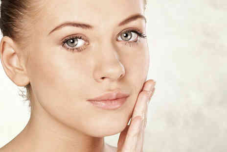 DH Faces - Deluxe dermaplaning treatment and soothing Neals Yard Organic Facial - Save 59%
