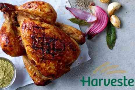 Harvester - Choice of Main Course with Drink and Unlimited Salad - Save 24%