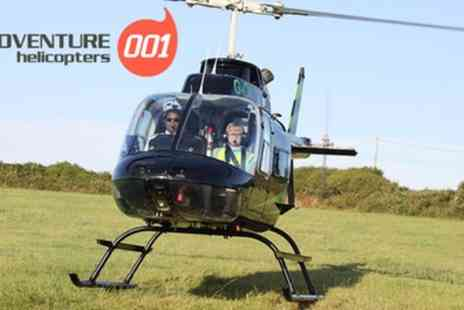 Adventure 001 - 25 Mile Helicopter City Tour for One or Two - Save 0%
