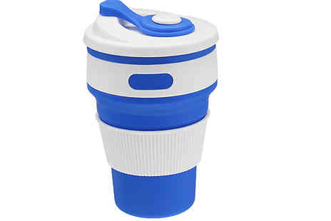 Good2items - Reusable Silicone Coffee Cup Choose Six Colours - Save 90%