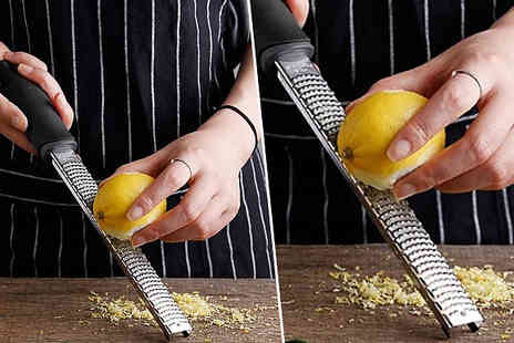 Buy Something - Multipurpose Stainless Steel Grater - Save 30%