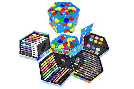 Home Season - 52 Piece Arts And Crafts Set - Save 80%