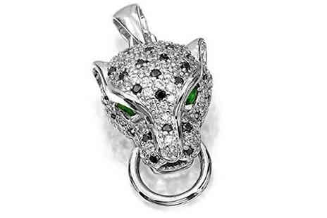 Taylors Jewellery - Sparkly Panther Pendant - Save 84%