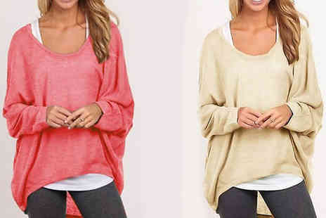 Best mall ever - Oversized Slouchy Jumper in 8 Colours - Save 80%