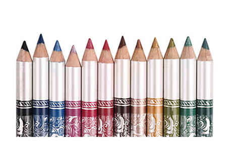 Buy Something - 12 Piece Multi Colour Eyeliner Set - Save 40%
