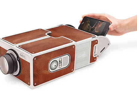 Best mall ever - Smartphone Projector - Save 80%
