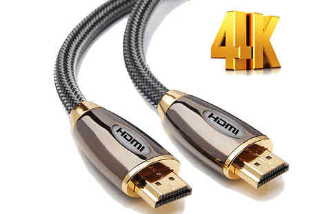 Mspackaging - Braided HDMI Cable - Save 88%