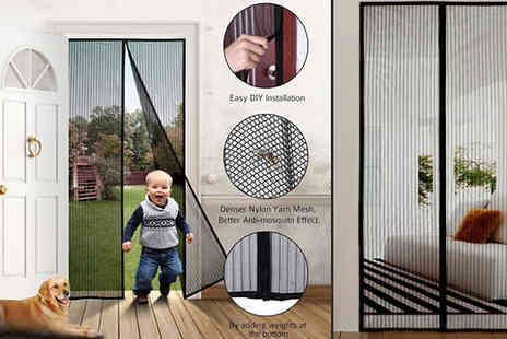 Good2items - Magnetic Insect Screen Curtain Choose from 2 Colours - Save 75%