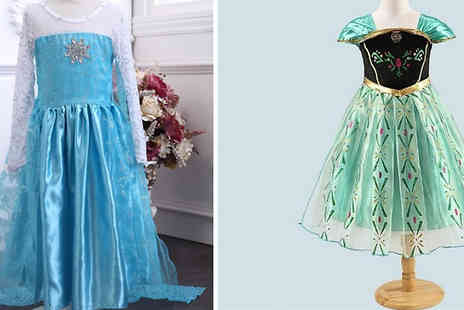 HXT Goods - Kids Princess Cosplay Dress Available in 6 Sizes - Save 78%