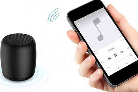 Good2items - Bluetooth Portable Wireless Speaker Available in 2 Colours - Save 88%