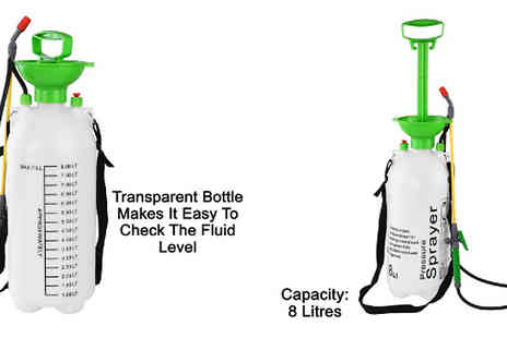 Fusion - Garden Weed Killer Chemical Spray Bottle Available in 5L or 8L - Save 62%
