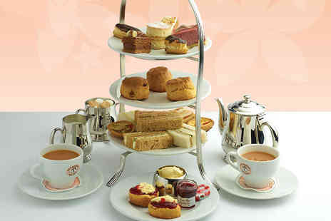 Patisserie Valerie - Afternoon tea for two people, or include a glass of Prosecco each - Save 24%