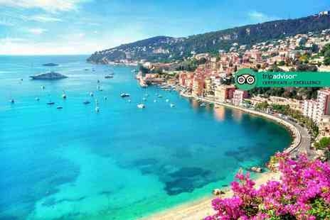 Via Holiday - Two or three night 4 Star Nice, French Riviera getaway with return flights - Save 29%