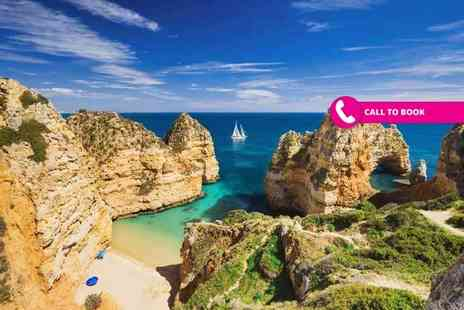 Book It Now Holidays - Two, three, five or seven night all inclusive Algarve getaway with return flights - Save 28%
