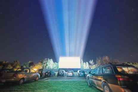 Moonlight Drive in Cinema - Admission for One Car - Save 40%