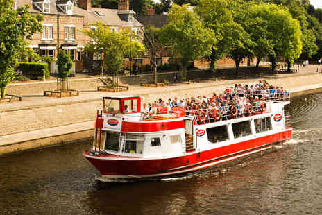 Patisserie Valerie - City of York Sightseeing River Cruise with Afternoon Tea for Two - Save 0%