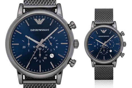 Best Watch Company - Emporio Armani AR1979 chronograph watch - Save 68%