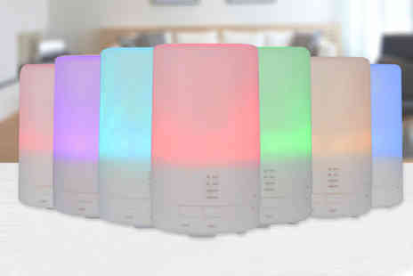 Wow What Who - Colourful Led aroma diffuser - Save 75%