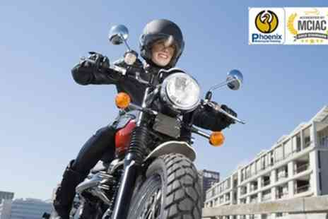Phoenix Motorcycle Training - CBT Motorcycle or Scooter Course - Save 45%